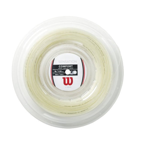 WILSON SENSATION 16 (1.30MM) TENNIS STRING 660'/200M REEL