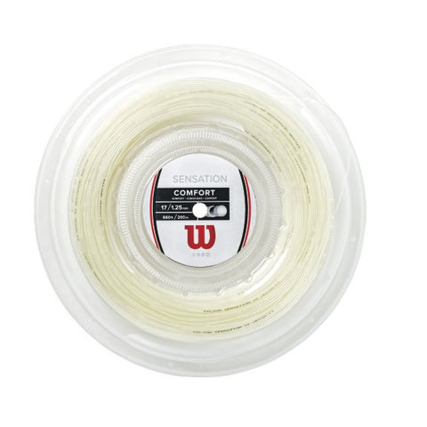 WILSON SENSATION 17 (1.25MM) TENNIS STRING 660'/200M REEL