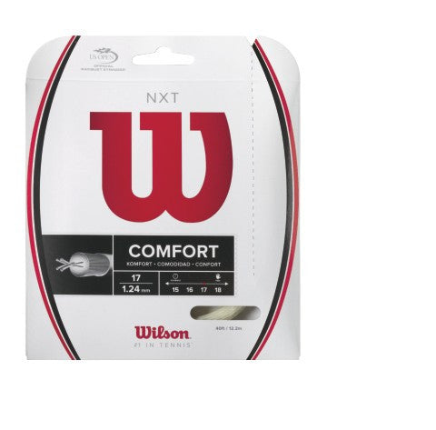 WILSON NXT 17 (1.25MM) TENNIS STRING 40'/12.2M (1 SET)