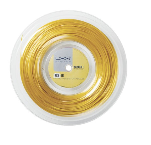 LUXILON 4G 16L (1.25MM) TENNIS STRING 720'/200M REEL