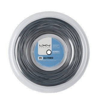 LUXILON BIG BANGER ALU POWER SILVER 16L (1.25MM) TENNIS STRING 720'/220M REEL