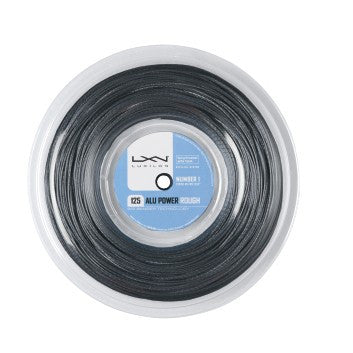 LUXILON BIG BANGER ALU POWER ROUGH SILVER 16L (1.25MM) TENNIS STRING 720'/220M REEL