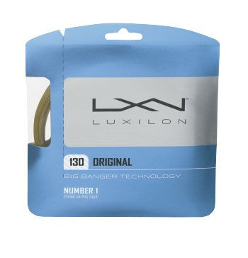 LUXILON BIG BANGER ORIGINAL 16 (1.30MM) TENNIS STRING 40'/12.2M (1 SET)
