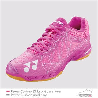 YONEX POWER CUSHION AERUS 2 PINK WOMEN'S BADMINTON SHOE