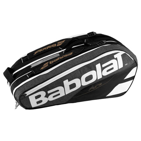 BABOLAT PURE 9 PACK GREY/WHITE RACKET BAG