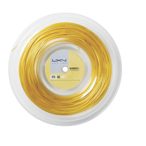 LUXILON 4G SOFT 16L (1.25MM) TENNIS STRING 720'/200M REEL