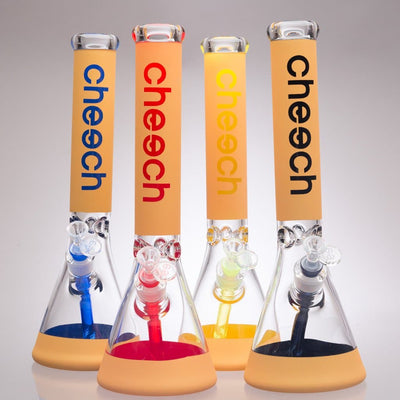 "Cheech Glass - 16"" Color Beaker Bongs"