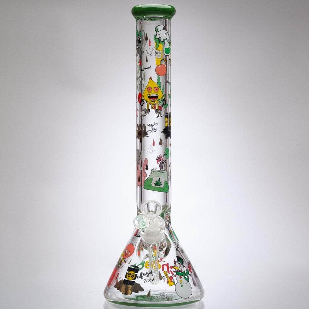 Cheech - 9mm Stoner Daze Beaker Bong