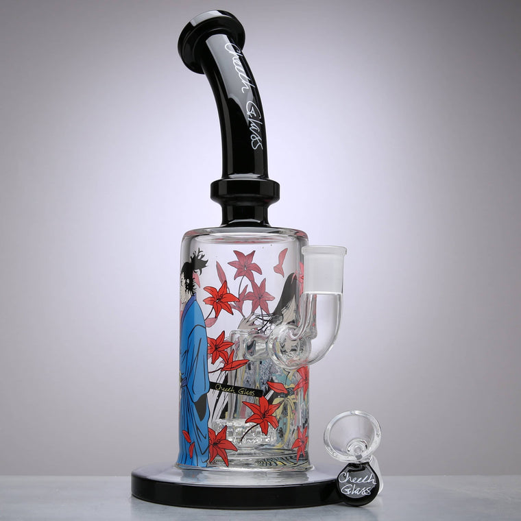 Cheech Glass - Geisha Mystic Bubbler Dab Rig