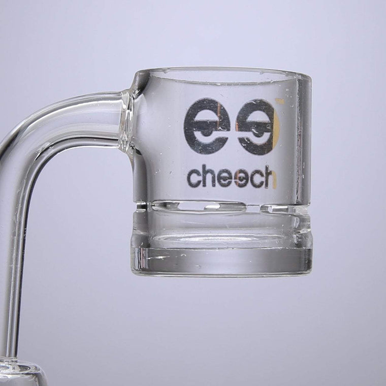 Cheech Glass - Quartz Vented Domeless Drum Nail