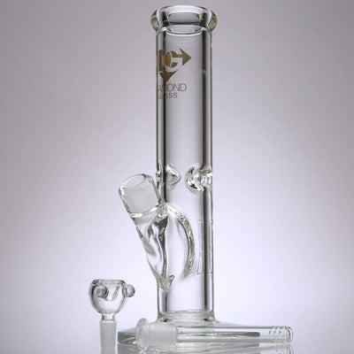 Diamond - 9mm Straight Tube Bong