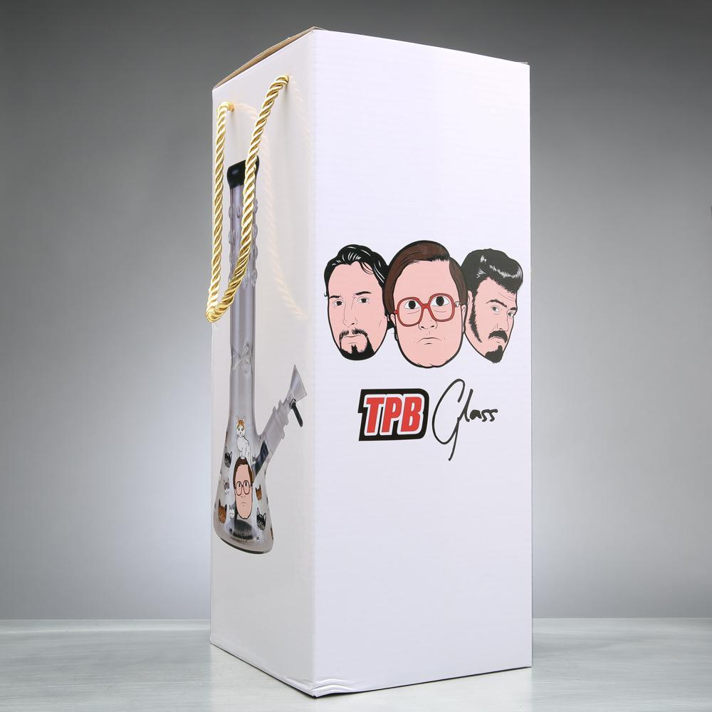 "Trailer Park Boys 12"" Kitty Love Beaker Bong"