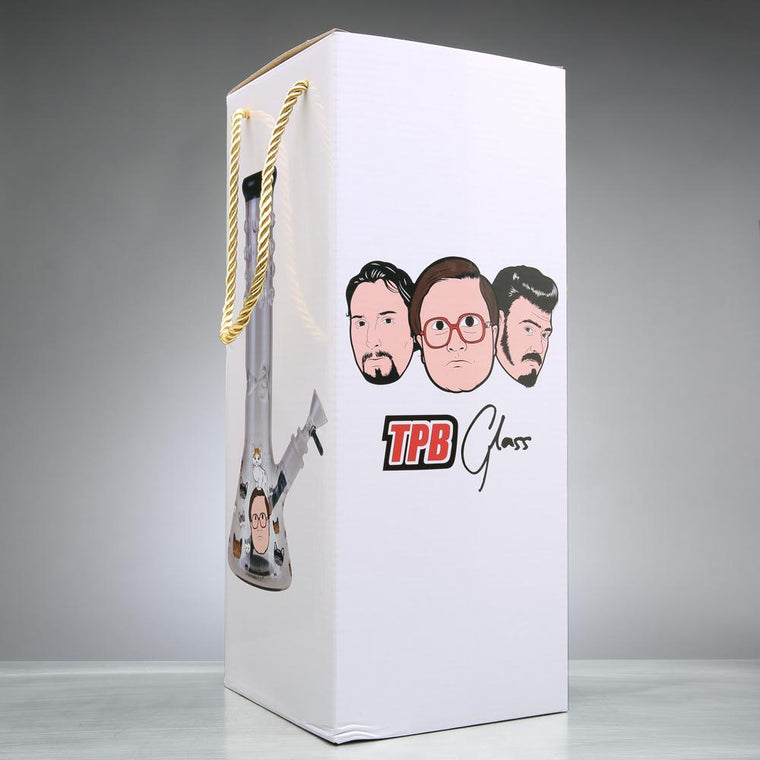 "Trailer Park Boys - 12"" Kitty Love Beaker Bong"