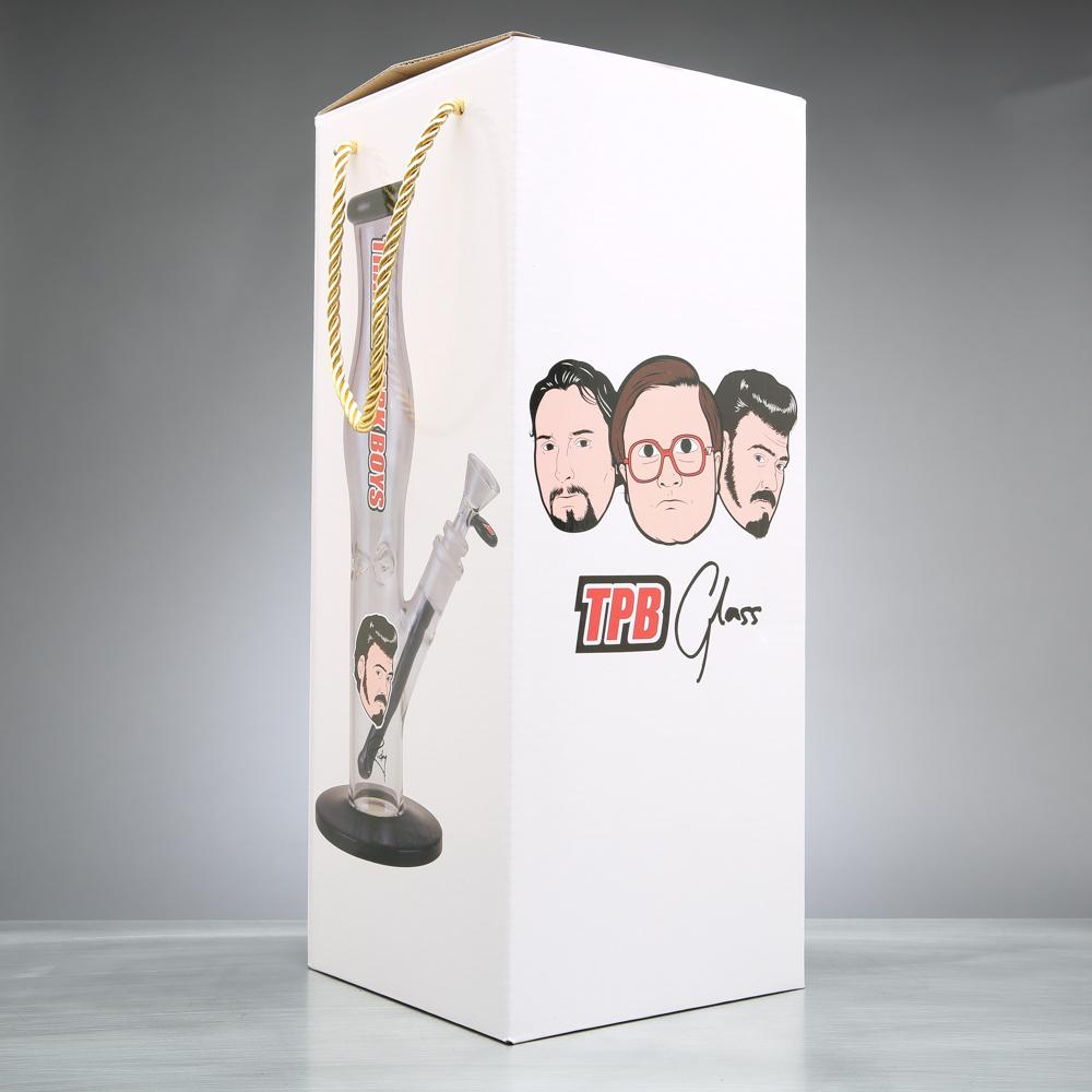 "Trailer Park Boys Glass - 12"" Ricky Face Bong"