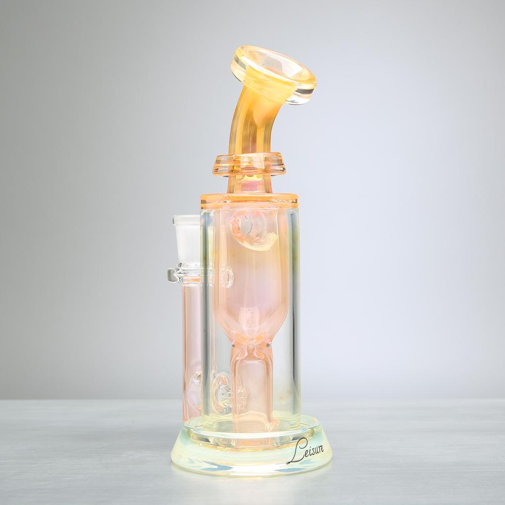Leisure Glass 10mm Fumed Incycler Dab Rig