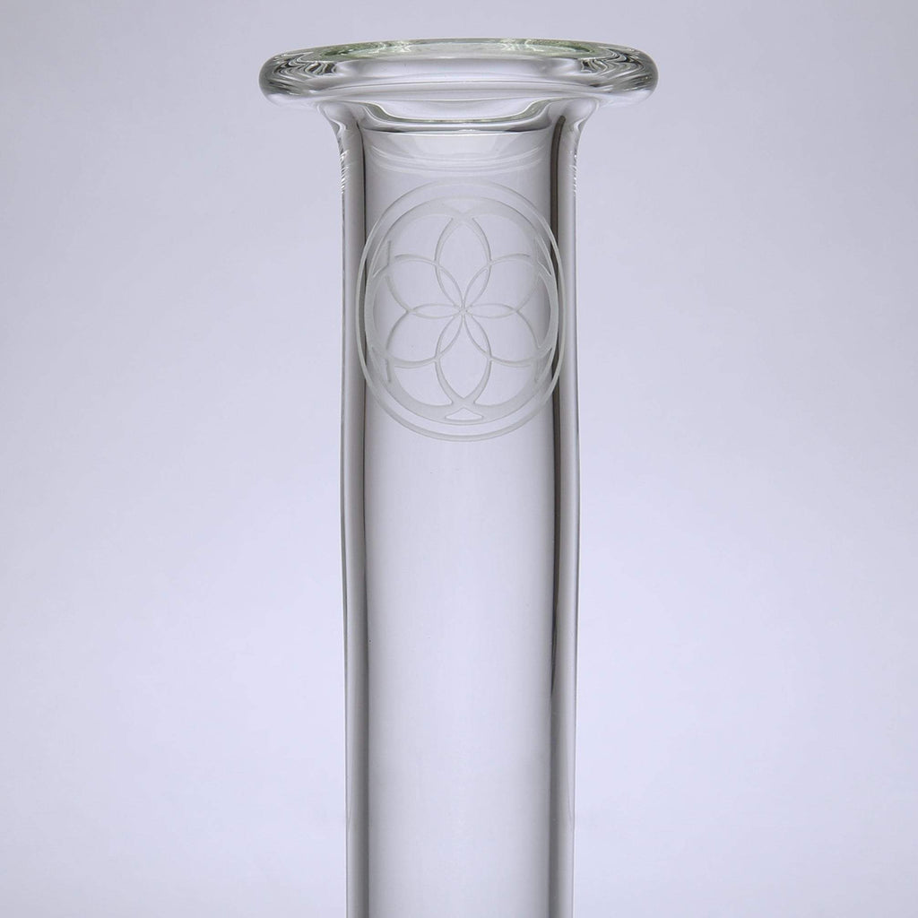 SoL Glassworks - Sherlock Lace Perc Bubbler