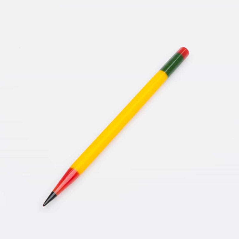 Sherbet - Yellow Glass Pencil
