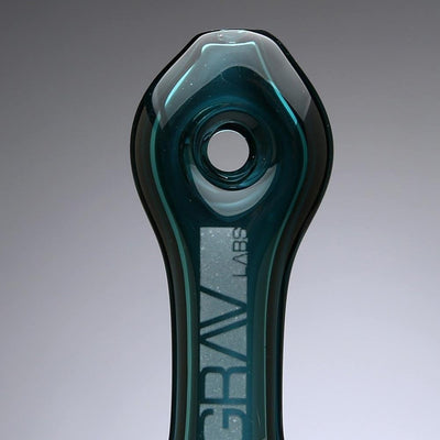 GRAV Glass Mini Donut Spoon Pipe