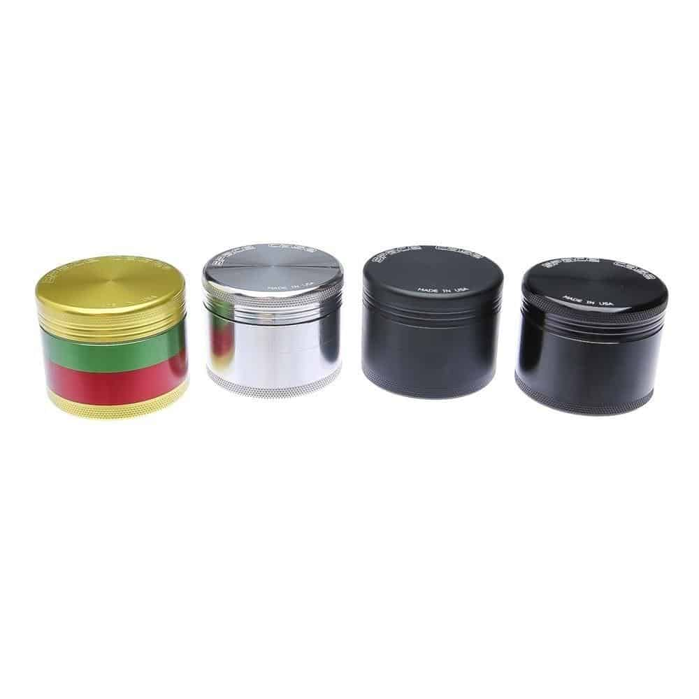Space Case Small 4 Piece Grinder Sifter
