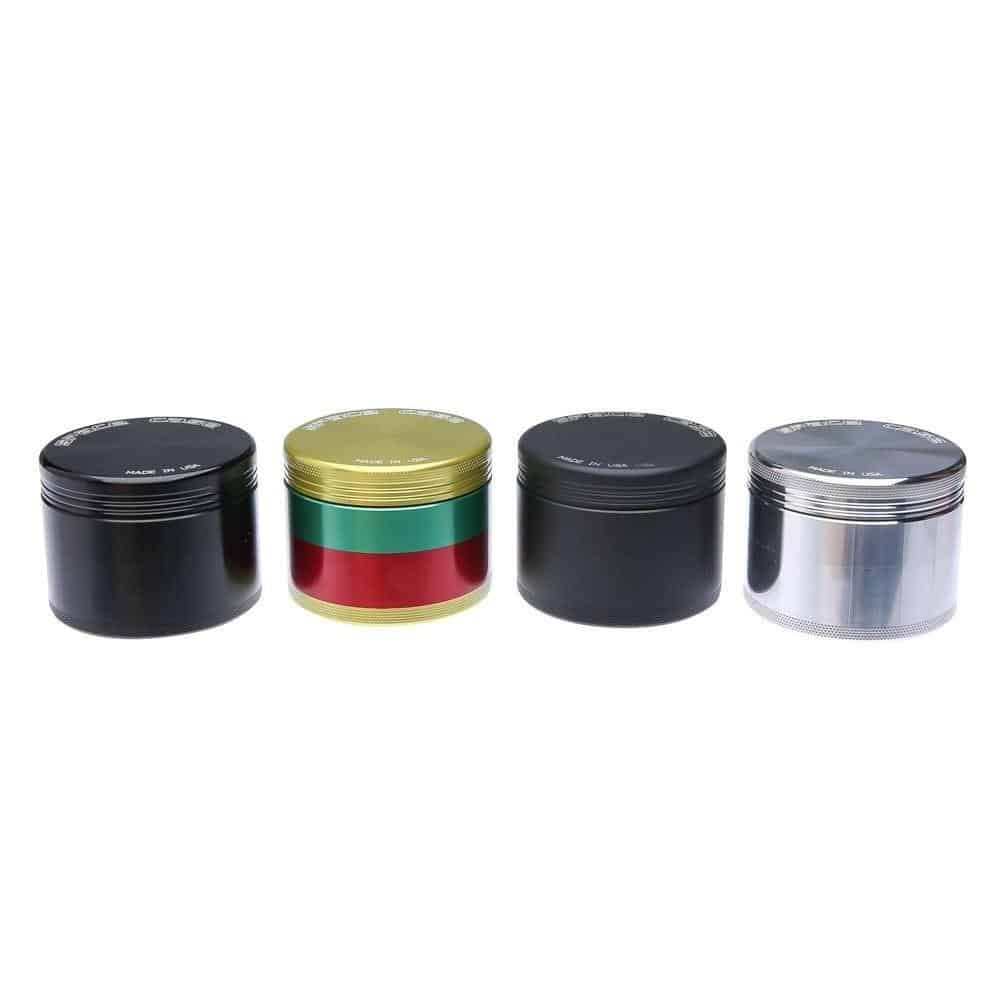 Space Case Medium 4 Piece Herb Grinder and Sifter