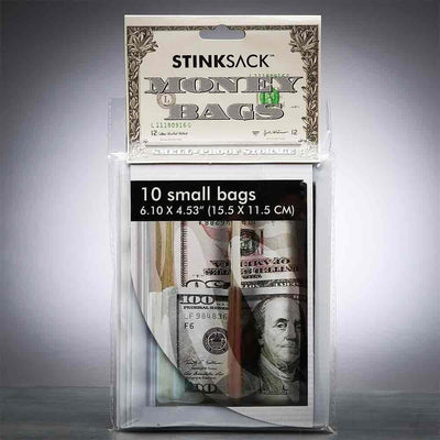 Stink Sack 10pk Smell-Proof Money Bags