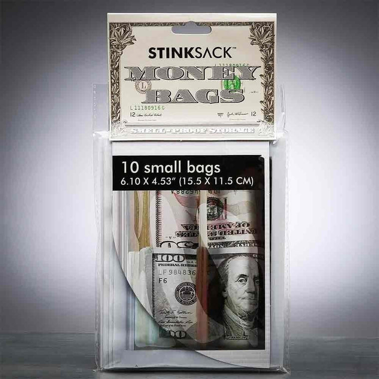 Stink Sack -  10pk Smell-Proof  Money Bags