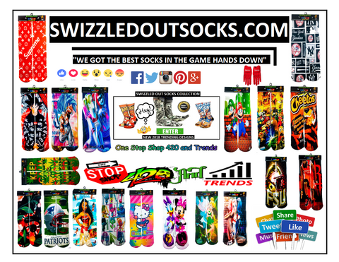 Benjamin Franklin United States one hundred-dollar bill socks design by Swizzzled Out Socks