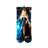One stop shop 420 & Trends 2 Goku Supreme money Gun Print Design Socks