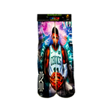 One stop shop 420 & Trends killer cross over Green White Boston Celtics PG #11 Kyrie Irving sock