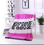 One stop shop 420 & Trends Love Pink Blankets