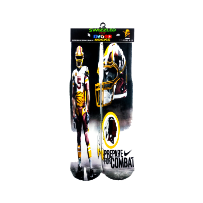One stop shop 420 & Trends NFL Football Washington Redskins Sports Team Sock