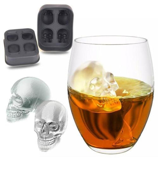 One stop shop 420 & Trends SKULL SHAPE ICE CUBE CANDY MOLDS