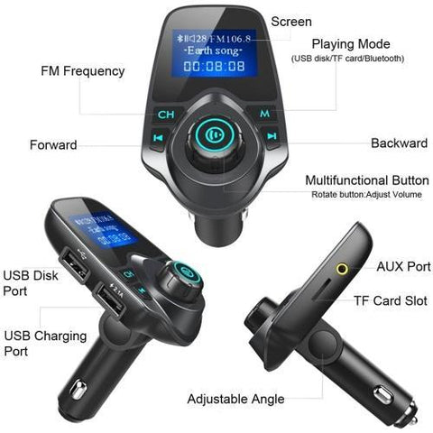 One stop shop 420 & Trends Universal Car Stero Bluetooth
