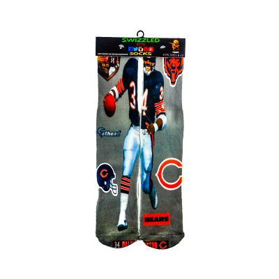 One stop shop 420 & Trends Walter Payton Chicago Bears NFL Football Socks