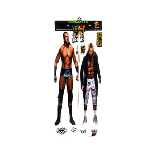 SWIZZLED OUT SOCKS SOCK big cass and enzo wrestling socks