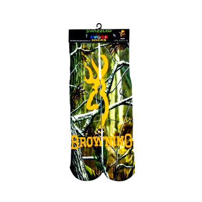 SWIZZLED OUT SOCKS SOCK Camouflage Browning Hunting Socks