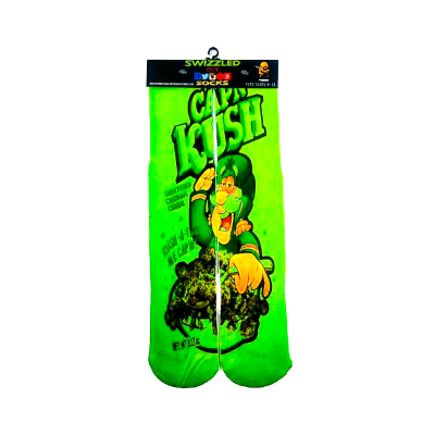 SWIZZLED OUT SOCKS SOCK Captain Kush Cereal socks