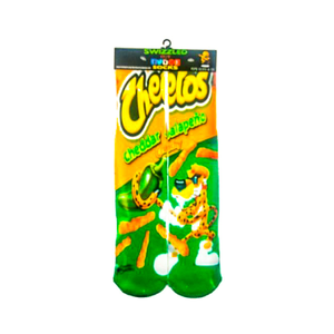 SWIZZLED OUT SOCKS SOCK Cheddar Jalapeno Cheetos Socks