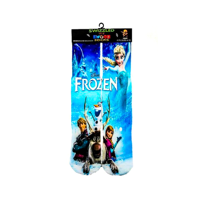 SWIZZLED OUT SOCKS SOCK Disney Frozen Character Socks | Elsa