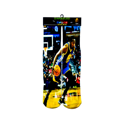 SWIZZLED OUT SOCKS SOCK Golden State Warriors Kevin Durant Socks