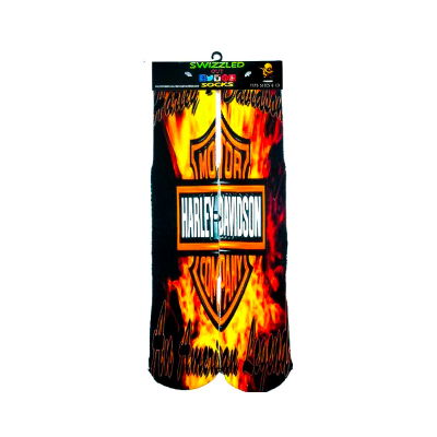 SWIZZLED OUT SOCKS SOCK Harley Davidson Motorcycle Biker Socks