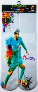 Lionel 'Leo' Messi Socks SWIZZLED OUT SOCKS SOCK Lionel 'Leo' Messi