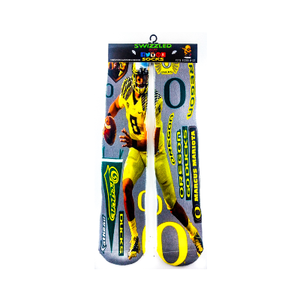 SWIZZLED OUT SOCKS SOCK Marcus Mariota Oregon Ducks College Football Socks