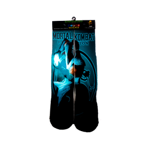 SWIZZLED OUT SOCKS SOCK Mortal Kombat Character Sub Zero Socks