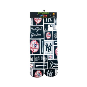 SWIZZLED OUT SOCKS SOCK New York Yankees Baseball Socks