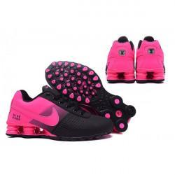 SWIZZLED OUT SOCKS SOCK Nike Shox Deliver Womens Black/Pink