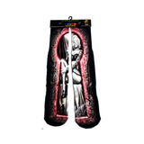 SWIZZLED OUT SOCKS SOCK pink black grey tattoo design Marylin Monroe sock