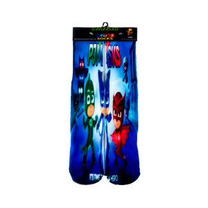 SWIZZLED OUT SOCKS SOCK PJ Masks Owlette, Gekko, and Catboy socks