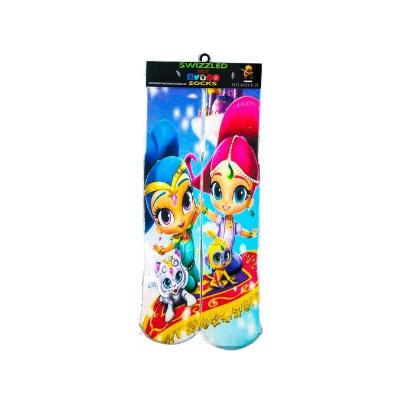 SWIZZLED OUT SOCKS SOCK Shimmer and Shine Socks