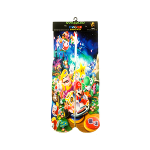 SWIZZLED OUT SOCKS SOCK Super Mario Characters Socks
